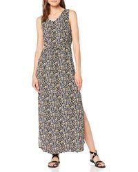 Vero Moda Vmsimply Easy SL Tank Maxi Dress Vestito - Nero