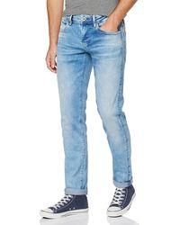 Pepe Jeans Hatch Vaqueros Hombre Ajustados - Azul