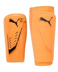 PUMA Power Protect Shin Guard W/sleeve - Orange