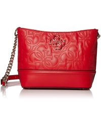 Guess New Wave Small Hobo - Red