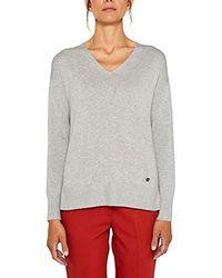 Esprit Suéter para Mujer - Gris