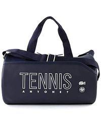 Lacoste Tennis M Roll Bag Peacoat - Blu