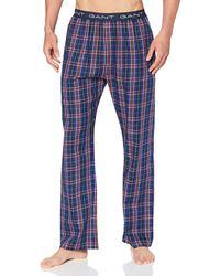 GANT Woven PJ Pants Tartan Check Pyjamaset - Blau