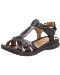 09c0483254031 Un Adorn Vibe S Black Sandal
