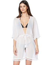 Iris & Lilly Amazon Brand - Women's Cover-up, White (bright White), Xl, Label:xl