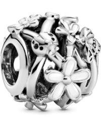 PANDORA Argent Sterling 925 sans Objet Amulette - 798772C01 - Métallisé