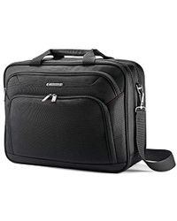 Samsonite Xenon 3.0 Single Gusset Techlocker Laptop Bag - Black