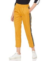 Scotch & Soda Maison Tapered Jogger with Side Stripes Pantaloni, - Giallo