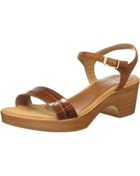 Unisa Irita_20_crw_ks Platform Sandals - Brown