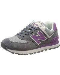 New Balance 574v2, Zapatillas para Mujer - Gris