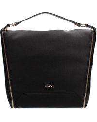 Liu Jo - Liu Jo N69125E0027 Shopping Donna Nero PZ - Lyst