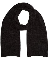 3dbf84dfb70af French Connection Rita Cable Knit Scarf in Natural - Lyst
