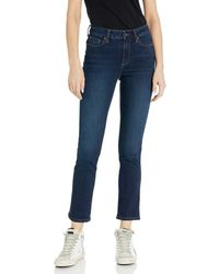 Goodthreads Mid-Rise Slim Straight Jeans - Azul