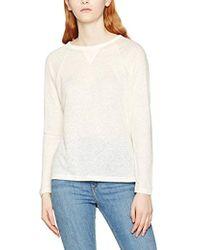 Filippa K - Linen Sweatshirt Tee Long Sleeve Top - Lyst