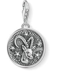 Thomas Sabo - S s-Charm-Pendentif Signe Zodiacal Capricorne Charm Club Argent Sterling 925 1649-643-21 - Lyst