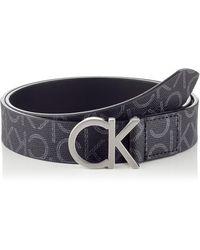Calvin Klein CK Belt 3CM Gürtel - Schwarz