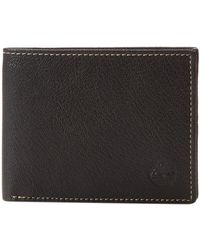 Timberland 100% Genuine Leather Portefeuilles - Noir