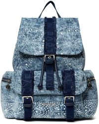 Desigual Back_galaxy Tribeca Backpack Handbag Blue