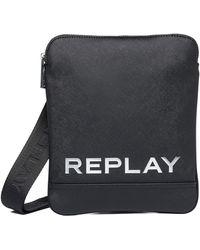 Replay Fm3488 Satchel Bag - Black