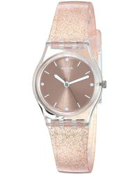 Swatch Analog Quarz Uhr mit Silikon Armband LK354D - Mehrfarbig