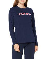 Tommy Hilfiger Cn Tee Ls Pyjama Top - Blue