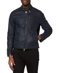 G-Star RAW Biker Denim Jacket - Blue