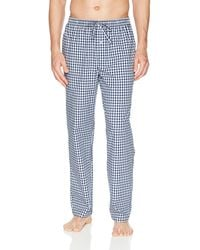 Amazon Essentials Woven Pyjama Pant Bottom - Blue