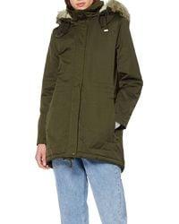 Esprit 088ee1g009 Parka Long Sleeve Coat - Green