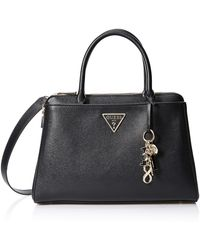 Guess Maddy Girlfriend Satchel - Black