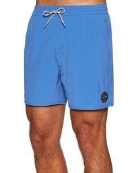 Rip Curl Daily 16 Volley,,volleyshort,bathing Shorts,bathing Trunks,elastic,stretch,blue,l
