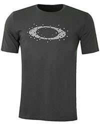 Oakley Ellipse Dots Tee T-shirt - Grey