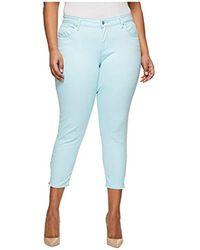 Levi's Plus-size 711 Ankle Skinny Zip Jeans - Blue