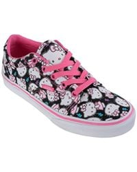 85c89e9c8e618 PUMA Women's Hello Kitty Classic Suede & Leather Lace Up Sneakers in ...