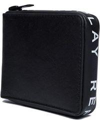 Replay Zip Around Wallet Black - Nero