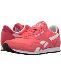 Missguided Sale Reebok Cl Nylon Slim Hv Red P2y3530