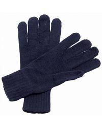 Regatta Knitted Gloves - Navy - Blue