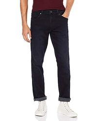 Wrangler Greensboro Jeans Straight Uomo - Blu