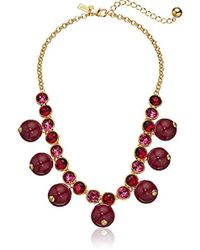 Kate Spade - Flying Colors Rock Candy Scatter Strand Necklace - Lyst