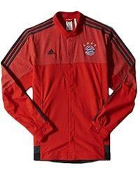 Bayern Munich Anthem Jacket Red 2014 15