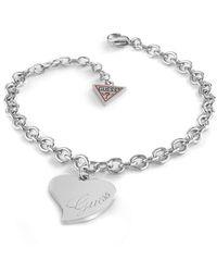 Guess Love Bracelet UBB28094-S - Métallisé