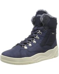 Esprit Gussie F Bootie Hi-top Trainers - Blue