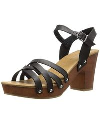 CL By Chinese Laundry Hot News Heeled Sandal - Black