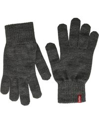 Levi's Ben Touch Screen Gloves - Grey