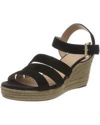 Geox - D SOLEIL C Wedge Sandal - Lyst