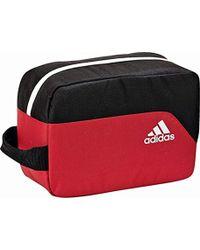 adidas Performance Zipped Toiletries Wash Bag - Red