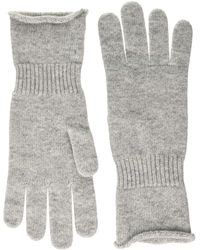 Benetton Guanti Gloves And Mittens - Grey