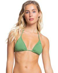Roxy Haut de Bikini Tiki Tri - - XL - Vert