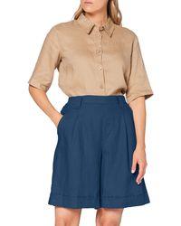 Benetton Bermuda Shorts - Blue