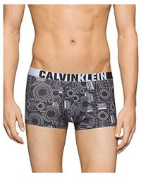 CALVIN KLEIN 205W39NYC Underwear Id Micro Low Rise Trunks - Black