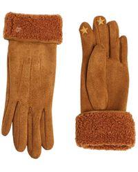 Esprit Accessoires 119ea1r009 Gloves - Brown